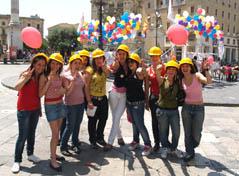 GPace-Giovani per la Pace, premiati a Cave