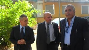 Mercato San Severino: il prof.Maffulli in visita all'ospedale Fucito