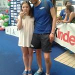 Ariano Irpino: Francesca Pannella campionessa italiana nuoto Fin