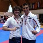 Grande successo Moffa Team Coppa del Mondo Karate WKF