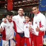 Moffa Team alla Coppa del Mondo di Karate WKF