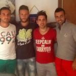 Salerno: nell' Arsenal Matera e Sabetta