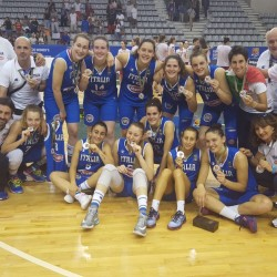 Basket: Italia Femminile Under 20 trionfa con medaglia