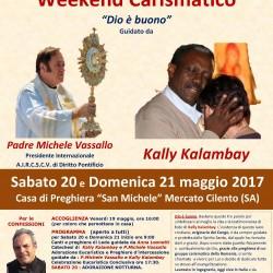Padre Michele Vassallo Calendario.Mercato Cilento Weekend Carismatico Dio E Buono Con Padre