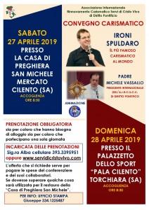 Padre Michele Vassallo Calendario.Torchiara Convegno Carismatico Dei Servi Di Cristo Vivo Con